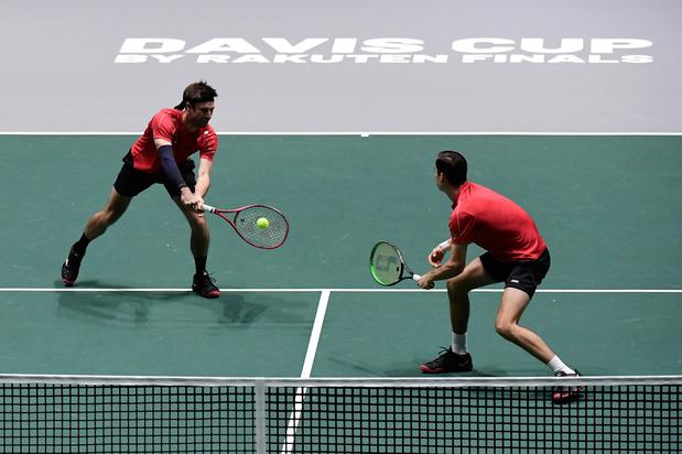 België wint van Colombia in Daviscup, Vliegen en Gillé kunnen niet stunten