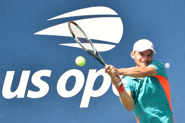 Pas de premier quart de finale à l'US Open pour David Goffin
