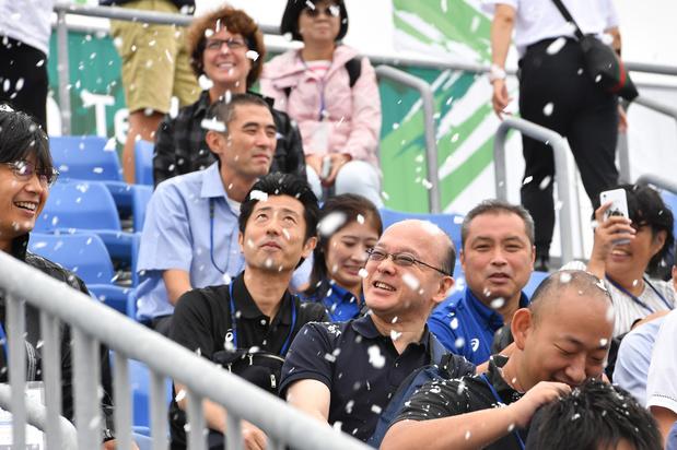 Tokyo 2020: sneeuw op de tribunes om toeschouwers af te koelen