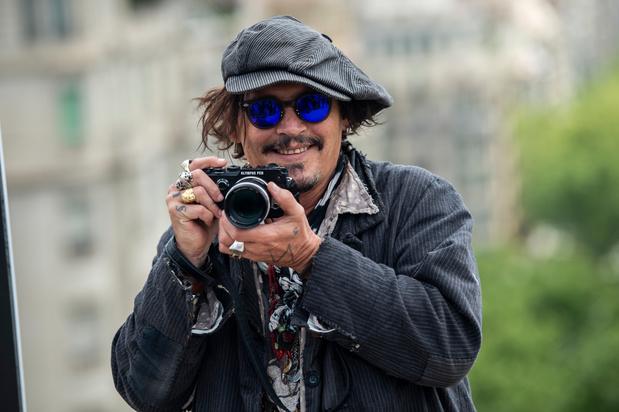 Johnny Depp présent au Festival du cinéma américain de Deauville