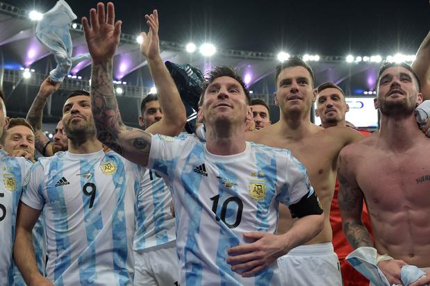 Argentinië verslaat Brazilië in finale Copa America
