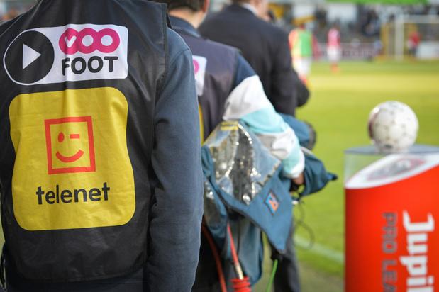 Pro League: Telenet offre 10 euros de réduction par mois dans l'attente d'un accord avec Eleven Sports