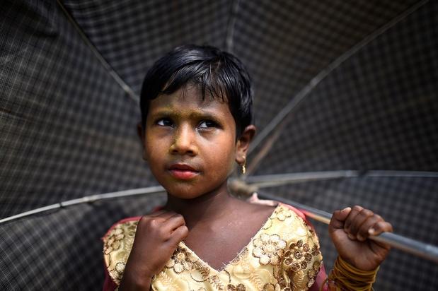 Rohingya-kinderen ongewenst op Bengalese scholen: 'We werden uit de klas gehaald'
