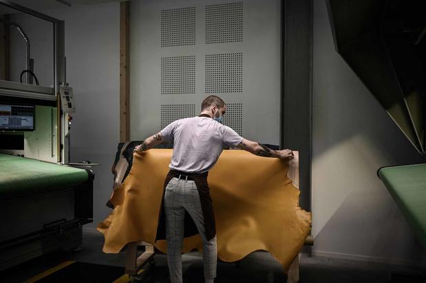 Hermès: dans les coulisses de la nouvelle manufacture (en images)