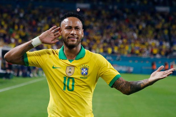 Neymar ziet de Rode Duivels als één van de favorieten op de wereldtitel