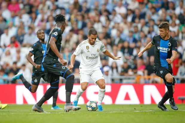 Club Brugge versus Real Madrid: een verschil in cijfers