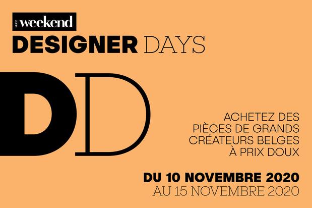 La liste des boutiques participant aux Designer Days du 10 au 15 novembre 2020