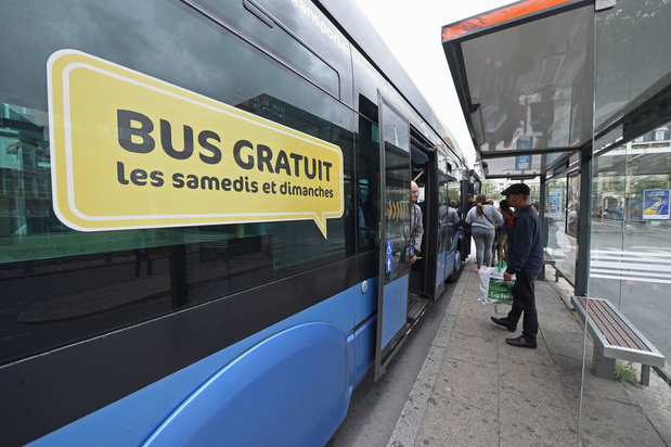Gratuité des transports en commun: le bilan (positif) des villes qui l'ont instaurée