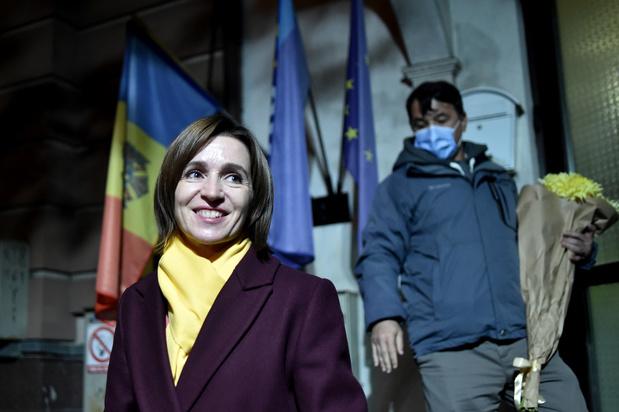 Présidentielle en Moldavie: la pro-européenne Sandu remporte le scrutin