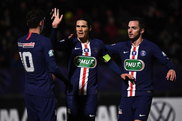 PSG wint van eigen abonnees in Franse beker