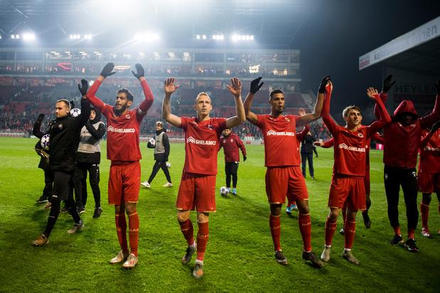 Antwerp zet KAA Gent opzij in inhaalmatch