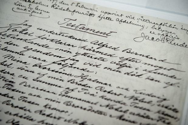 """Le testament Nobel, un legs en or pour """"un monde meilleur"""""""