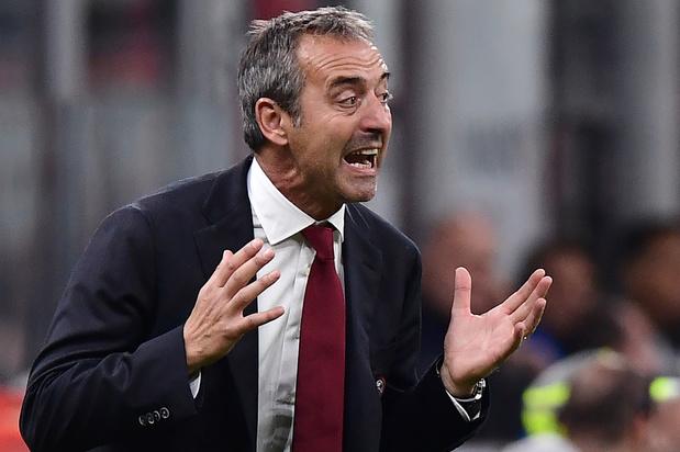 AC Milan zet Giampaolo aan de kant, ex-Inter-coach Pioli is zijn vervanger