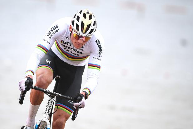 Vier op een rij: Mathieu van der Poel wint ook in Heusden-Zolder, Brand sterkste bij de vrouwen