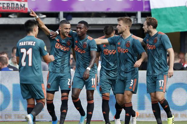 Ajax speelt dit seizoen meer tiki-taka dan Barcelona
