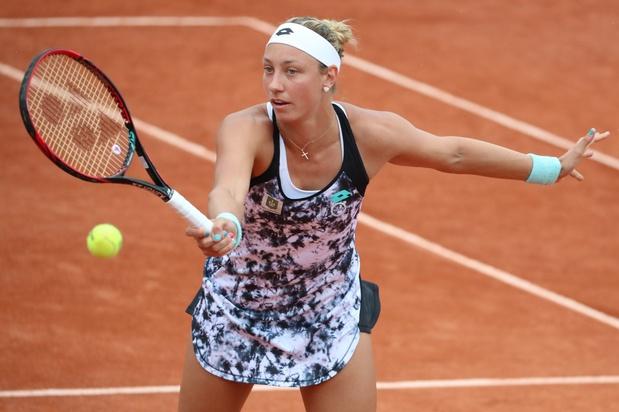 Yanina Wickmayer éliminée dès le premier tour de qualifications à Rolland-Garros