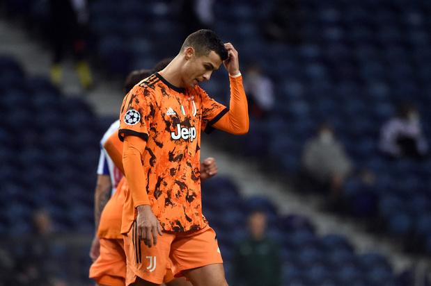 Ligue des champions: la Juve de Ronaldo battue à Porto, Haaland fatal à Séville
