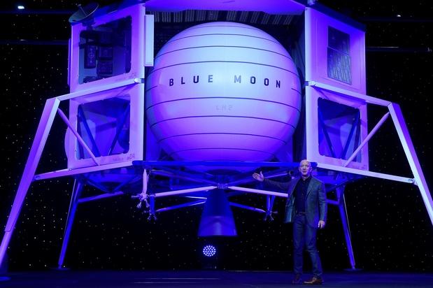 Voici l'appareil avec lequel Jeff Bezos souhaiterait alunir