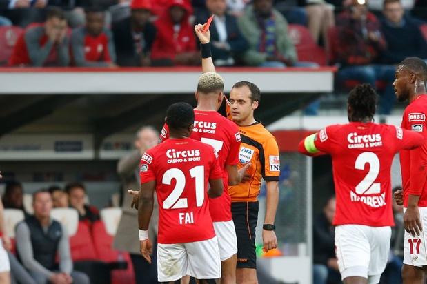 L'agression de Collins Fai face à Bruges qui pourrait lui coûter trois matchs (vidéo)