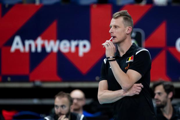Van Kerckhove stopt als hoofdcoach van Belgische volleybalmannen, Baeyens neemt tijdelijk over