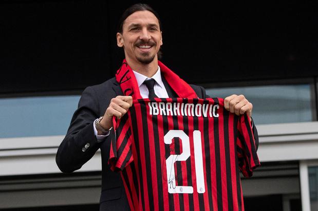 Zlatan Ibrahimovic tekent bij AC Milan: 'Ik ben geen mascotte die maar een beetje gek moet doen'