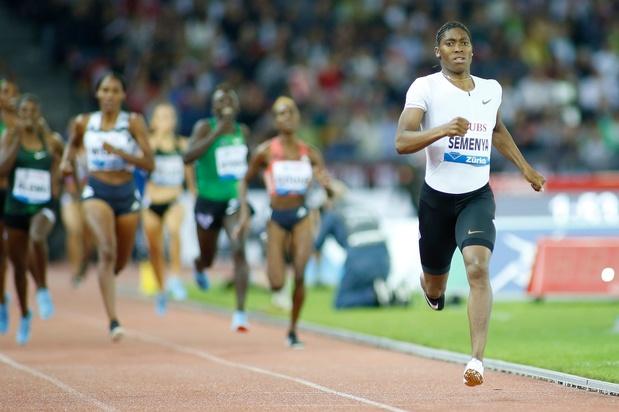 Caster Semenya sera présente sur 800m au meeting de la Golden League