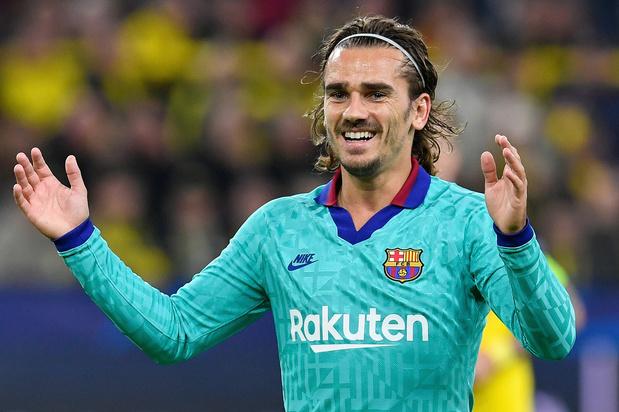 Barcelona moet boete van 300 euro betalen voor transfer Griezmann