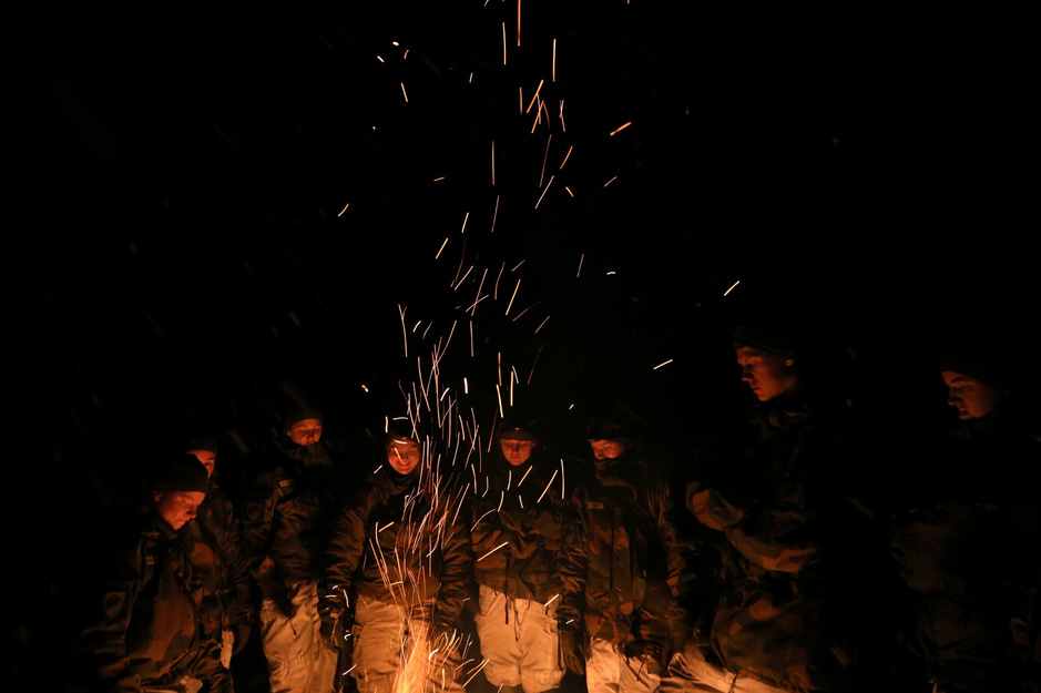 In beeld: Militaire spanning in de noordpool