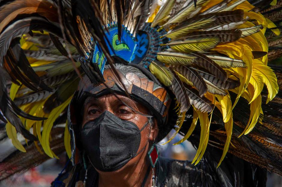 Le coeur aztèque de Mexico bat encore (en images)