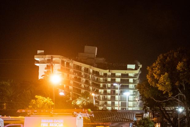 Dodental ingestorte appartementencomplex Miami loopt op tot 64
