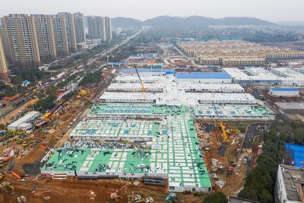 Comment la Chine a pu construire deux hôpitaux en dix jours — Coronavirus