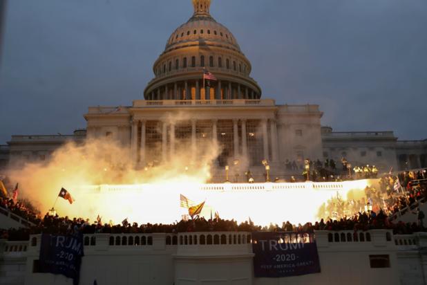 'Waarom ik niet verbaasd was over de rellen in Washington DC'