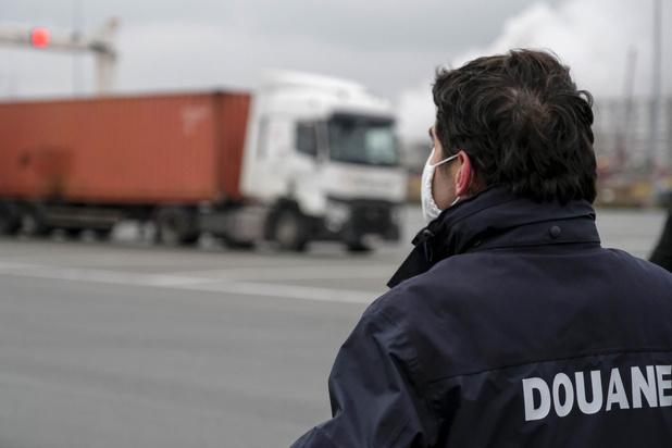 Ruim 65 ton cocaïne onderschept in Antwerpse haven in 2020