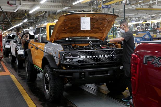 Ford bouwt nieuwe fabrieken in VS: 11.000 extra jobs tegen 2025