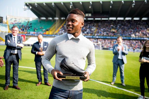 Anthony Limbombe prêté une saison au Standard avec une option d'achat