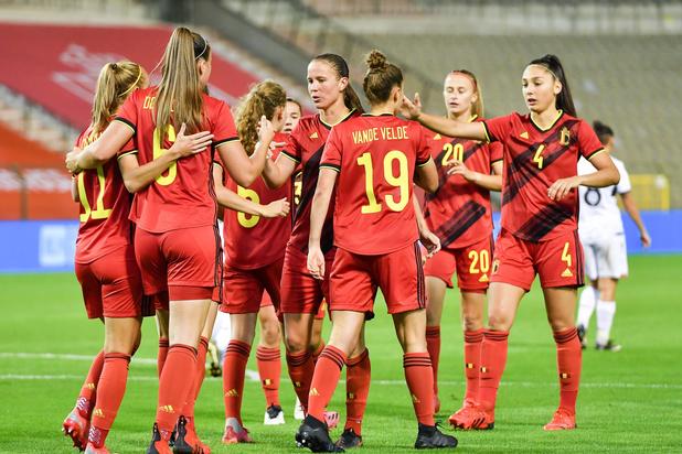 Red Flames knopen aan met riante zege in kwalificatiewedstrijd tegen Albanië