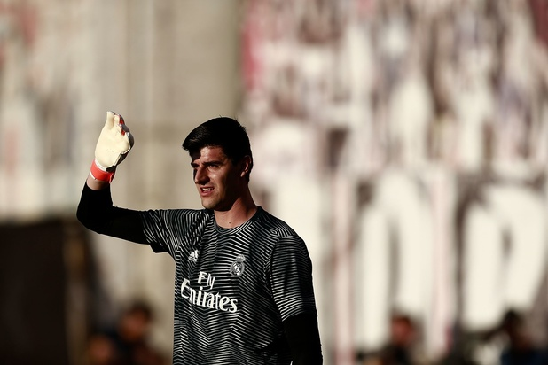"""Courtois encensé par la presse espagnole pour sa première sous Zidane: """"C'est le meilleur joueur du Real"""""""