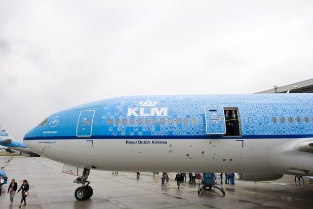 Le personnel au sol de KLM une nouvelle fois en grève mercredi