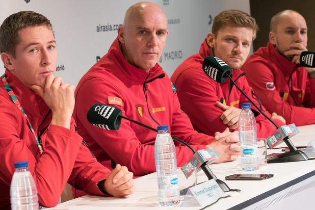 Davis Cup-kapitein Van Herck: 'Minstens kwartfinales halen'