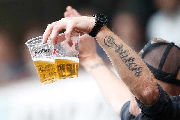Geen drank meer op hoofdtribune Antwerp