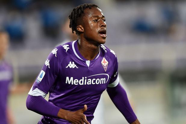 Anderlecht huurt Ivoriaanse spits Kouamé van Fiorentina
