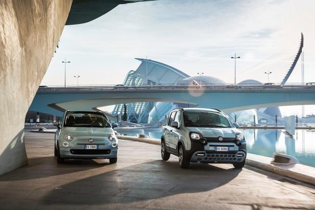 Les Fiat 500 et Panda passent à l'hybride