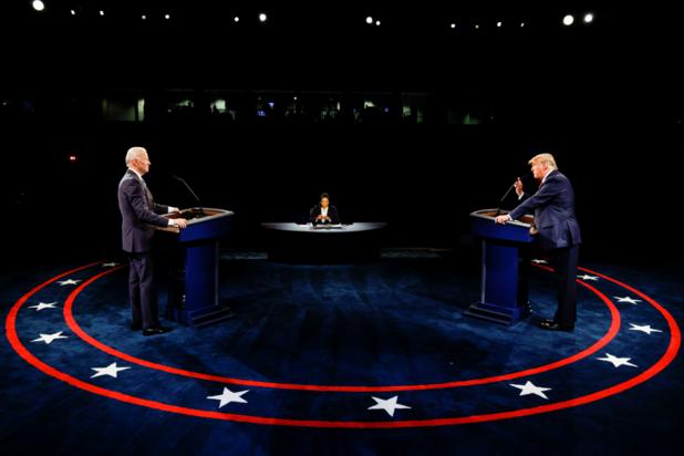 Debat Trump-Biden: 'Zo gaat het altijd met die politici'