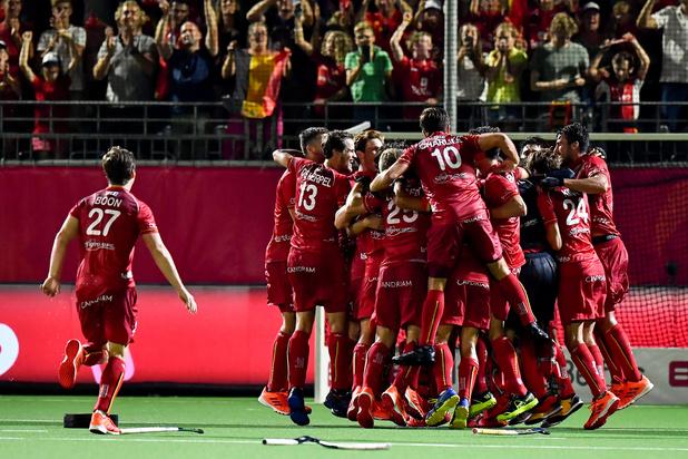 Red Lions krijgen Nationale Trofee voor Sportverdienste