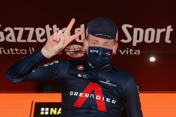 Ritwinnaar Geoghegan Hart en roze trui Hindley beginnen in zelfde tijd aan slottijdrit Giro
