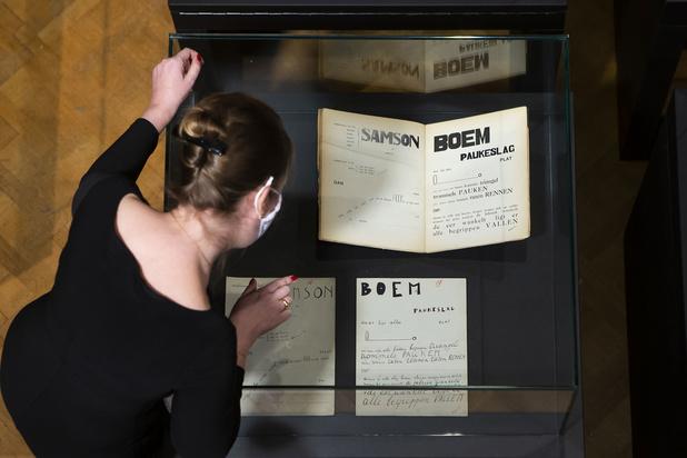 Manuscript 'Bezette Stad' is weer thuis in Antwerpen