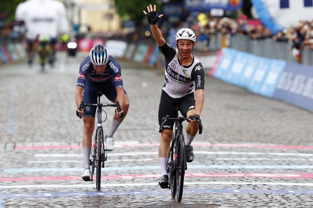 Victor Campenaerts zorgt voor een tweede Belgische ritzege in Giro