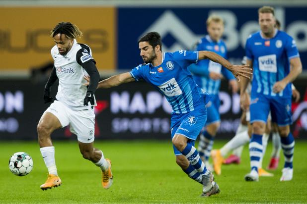 Genk s'impose 1-2 à Gand et inflige une 7e défaite aux Buffalos