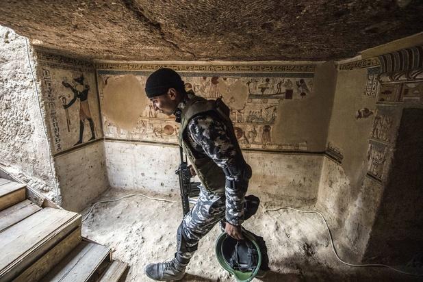 Egypte: une tombe de plus de 2.000 ans dévoilée à Sohag