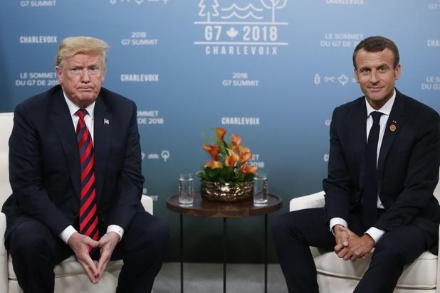 Trump en Macron bereiken staakt-het-vuren over digitaks